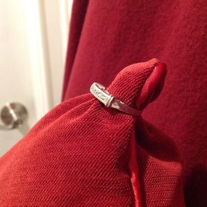 Jewelry - ✨HOST PICK✨Sterling Silver CZ Ring